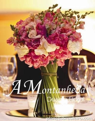 de Decoração Casamento  Curso de Arranjos florais para eventos