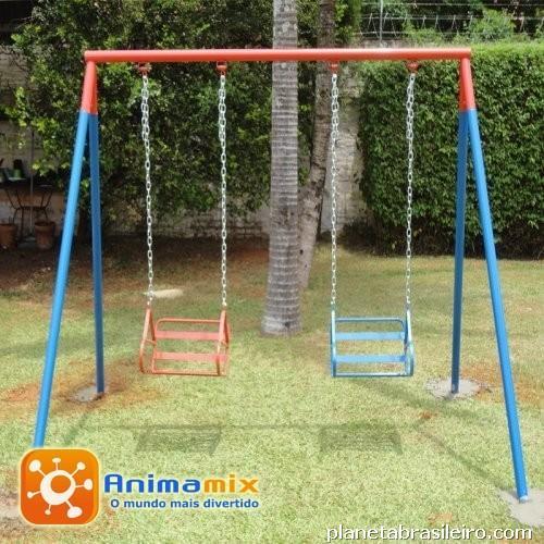 banco de jardim infantil : banco de jardim infantil:Balanço 2 Lugares com Cadeira em Ferro em Piracicaba: telefone